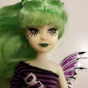 🌺 3x$25 🌺 punk rock styled doll with wings